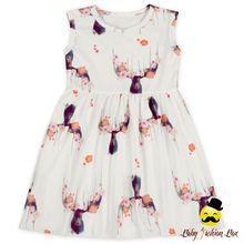 Frock Design Kids Summer Daily Wear Dear Patterns Printed Sleeveless Fairy Style Baby Girl Summer Dress