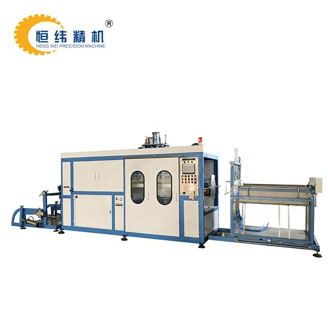 disposable plastic dish PS plates thermoforming machine price