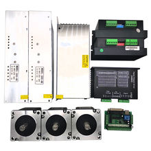 CE and ISO approved nema 34 cnc kit 3 axis stepper motor