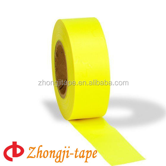 Fluorescent Color PVC Flagging Tape