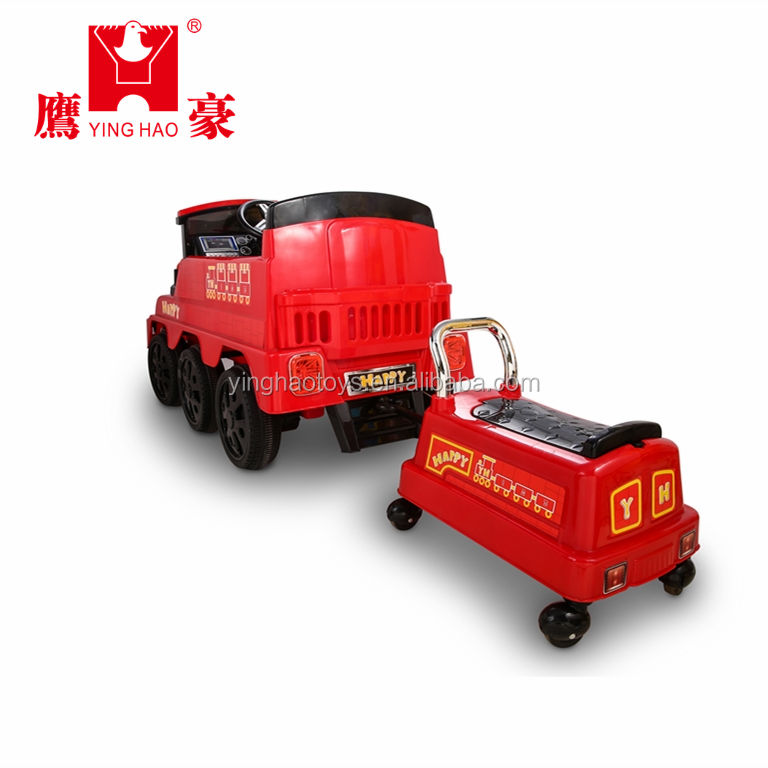 Kids ride on train with fun to drive Children ride on car Toy