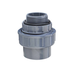PN10 PN16 PVC blue union coupling, PVC threaded union connector