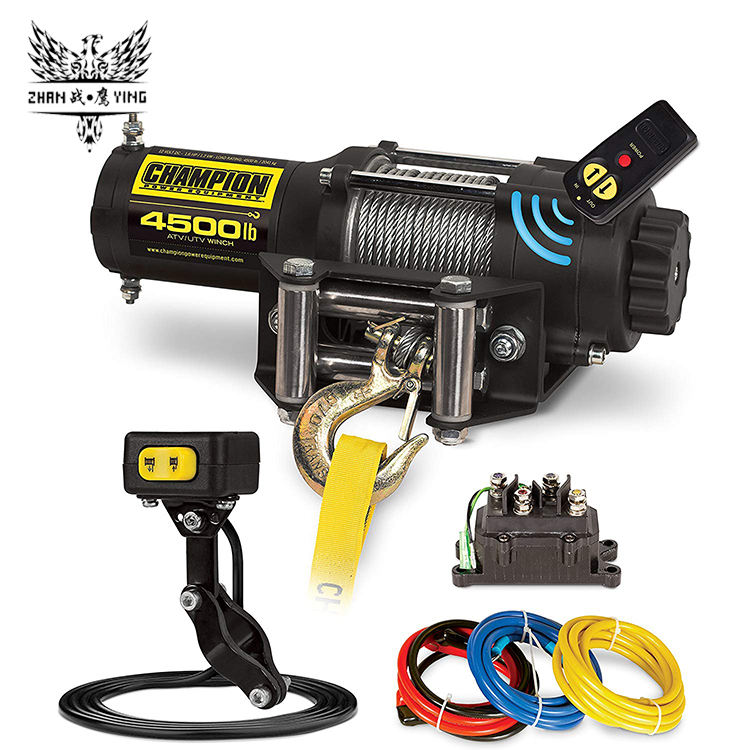 12 v Electric Winch 3000lbs 4x4 Off Road Winch Cho Xe Ô Tô/Xe Tải