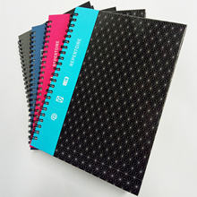 Promotional Hardcover Spiral Notebook Custom Tabs Divider Personal Diary