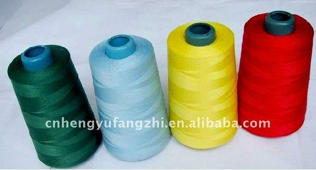100% polyester Spun sewing thread 40s/2/3