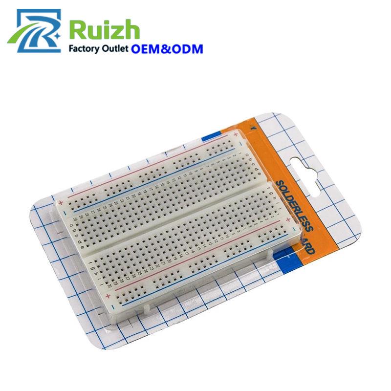554A Solderless Prototype PCB Breadboard 400 Points Bread Board Electronics