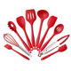 Wholesale Easy Clean Cooking Tool Set 10 Pieces Set Silicone Kitchen Utensil Set