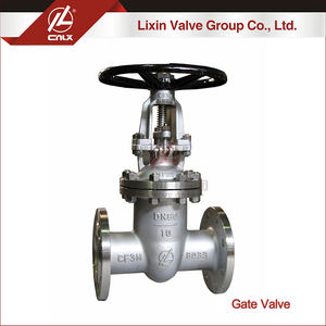 valve gate dn1200 rising stem manual carbon steel stainless steel CF8M gate valves PN10 PN16 supplierstainless steel