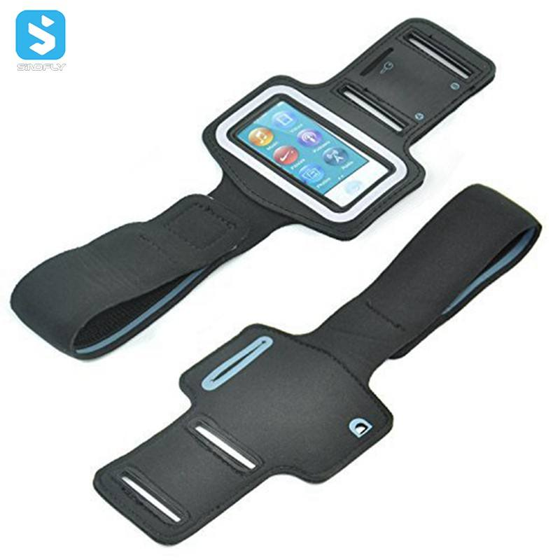 Workout Phone Armband Gym Running Sport Arm Band Protective Cover Case for ipod Nano 7 8
