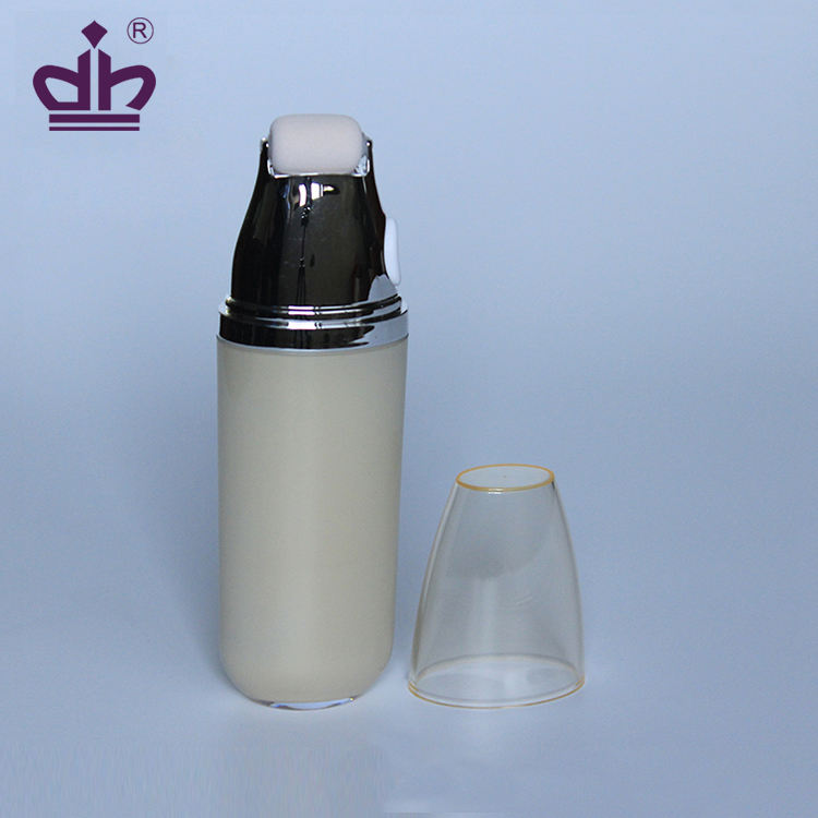 Bulk 1oz plastic empty cream bottle cosmetic packaging
