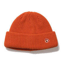 Boys and girls unisex beanie wool cap wool knit hat with samll logo stitched