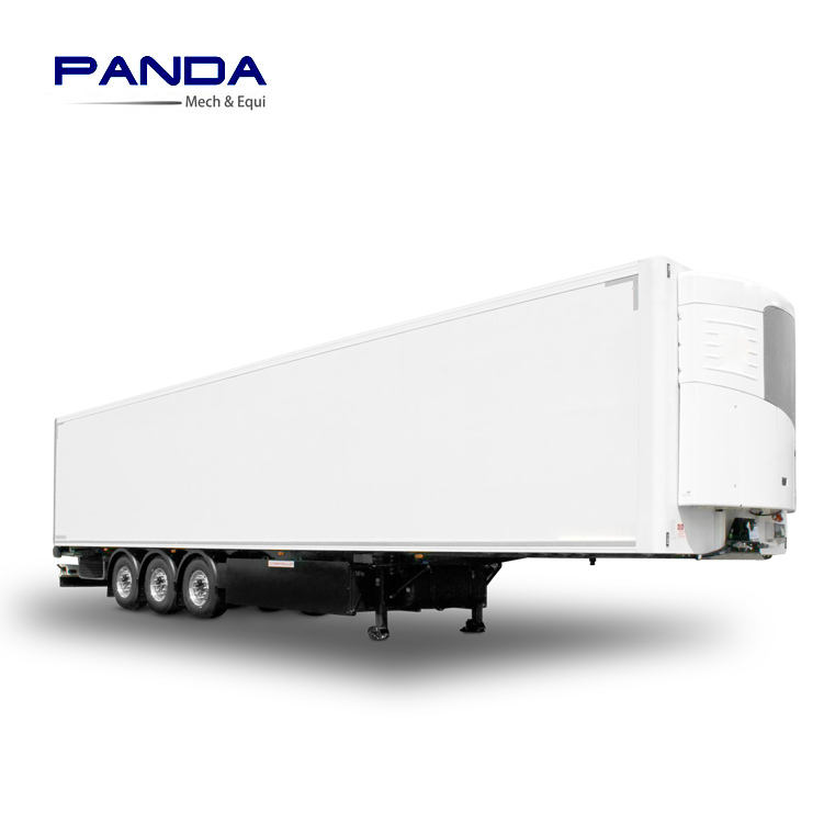 PANDA trailer refrigerated unit /tri axles 40ft refrigerated semi trailer for sale