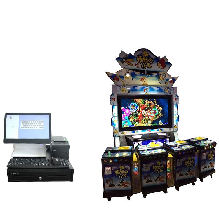 Casino Cashless Payment Management POS System and Card Reader For Fish table game machine POS