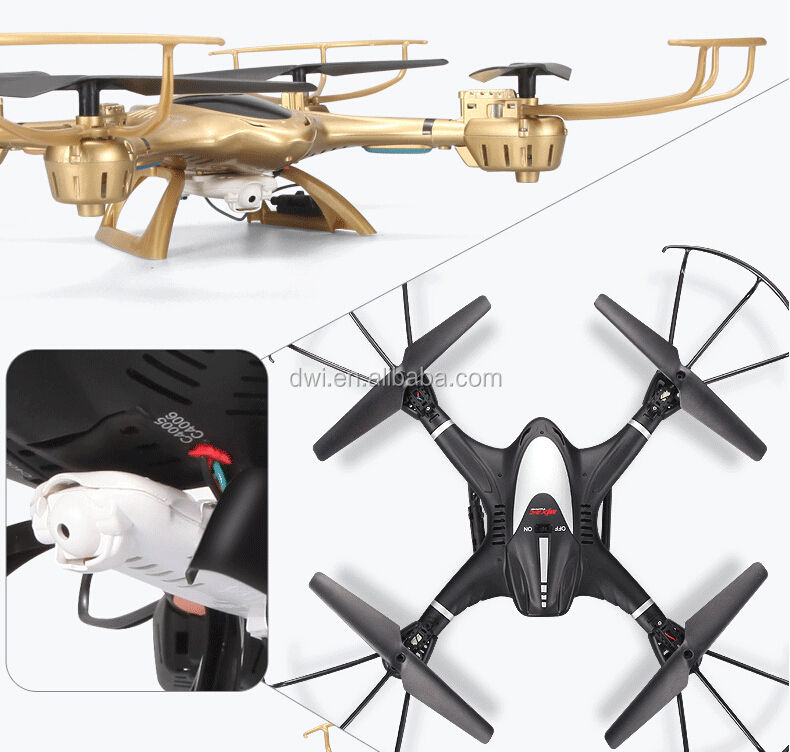 DWI X401H 2.4G-axis Drone con HD <span class=keywords><strong>Fotocamera</strong></span> Quadcopter Drone Video VS <span class=keywords><strong>MJX</strong></span> T-series RC Helicopter