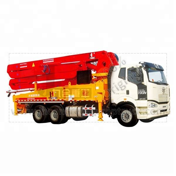 Remote control JH 25m 28M 30M 34M 38M Small /Medium Truck Mounted boom Concrete Pump Prices