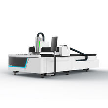 New design sheet metal cut to length line laser cutting machine 1000W IPG fiber laser cutting machine for hot sale
