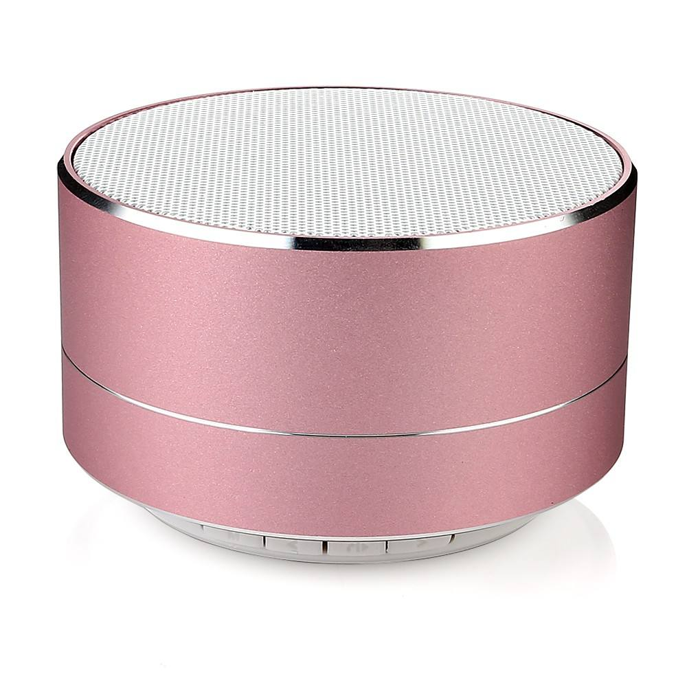New arrivals 2018 metal mini portable wireless sound bluetooth speaker with Mic TF card FM radio AUX MP3 music play loudspeaker
