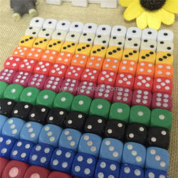 Poker Chips dice for Gambling Game Dice & Blue,Green,Yellow,Black,Orange colorful colors Promotional Gifts RPG DICE SET
