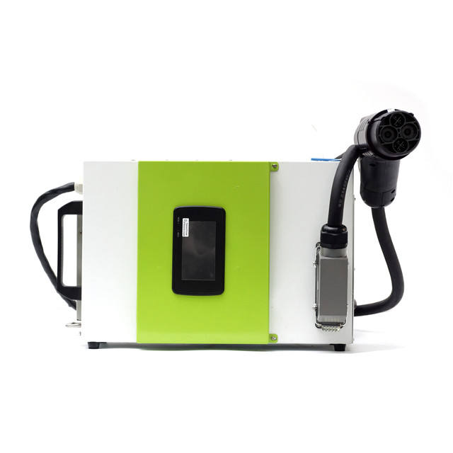 Electway 15KW mobile 25A DC charger support CCS & CHAdeMO EV charger car battery charger for travel
