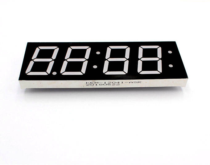 1.2 inch time clock 4 digits led digital tube segment led display