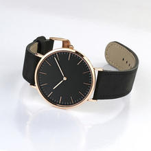 New York 2019 OEM Most Popular Style Custom Lady Watches Ladies Black White Slim Mesh Belt Custom Minimalist Women Watches