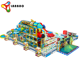 2019 amusement park plastic indoor playground equipment children big slide