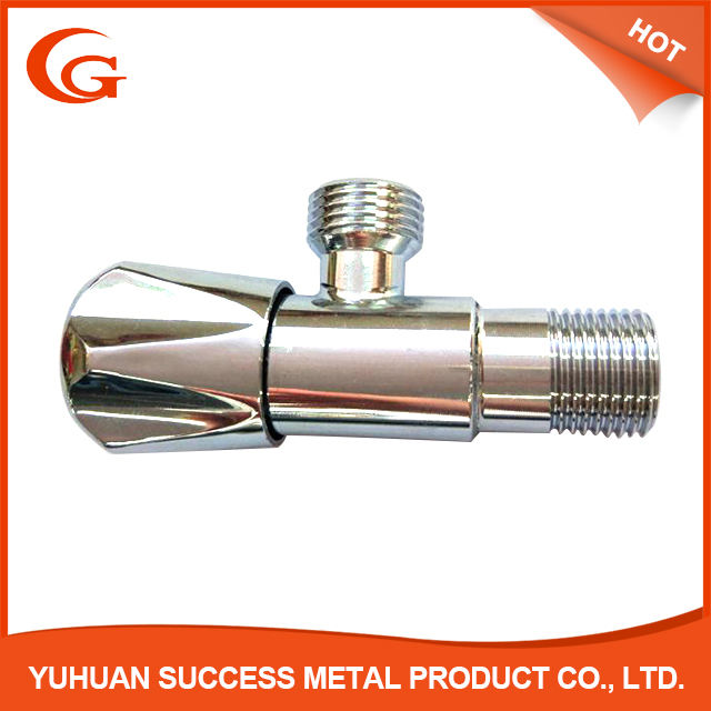 "1/2"" stainless steel 201 /304 chrome angle valve"