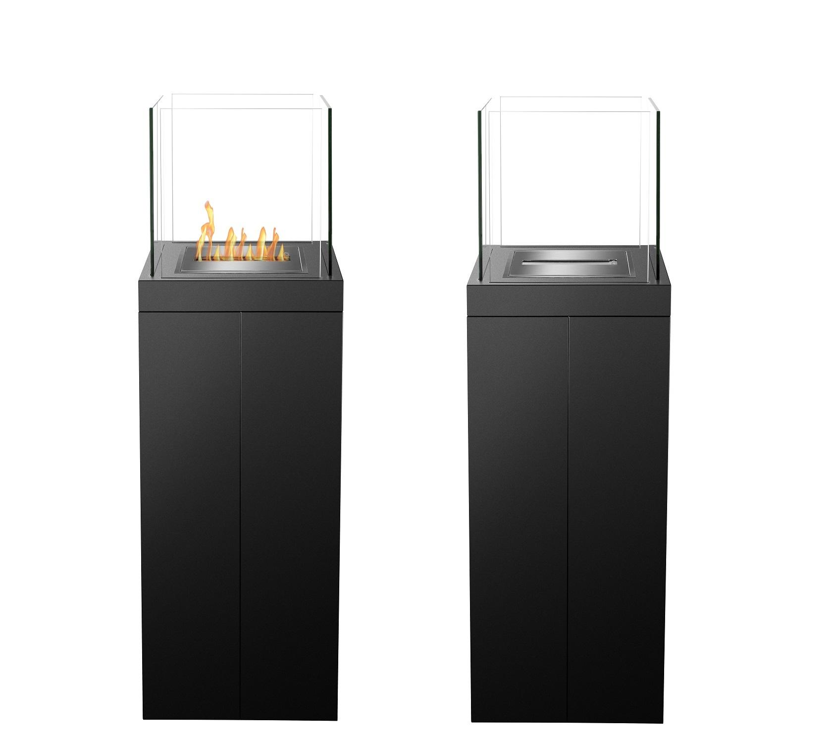 Inno-living FS-01 outdoor fire place glass etanol stands chiminea