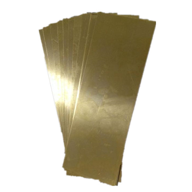 Polished antique 1/2 Hard C26000 C27000 Brass Sheet / Brass Plate