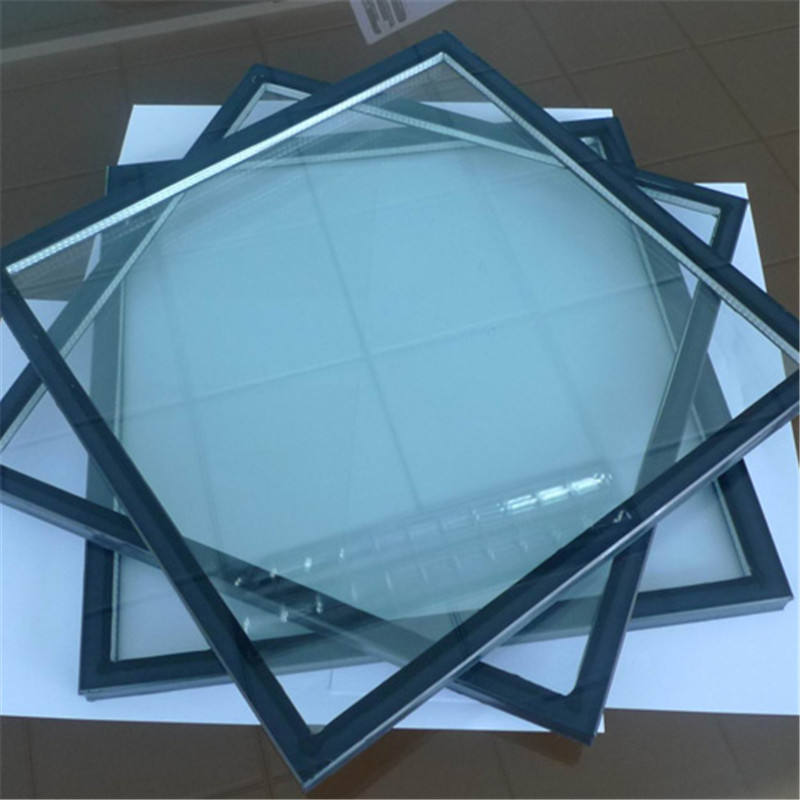 Tinted toughened building ultra clear building glass price cut to size panel acid etched glass customize shape