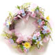 2020 Easter Egg Spring Wreath easter wreath decoration for Front Door Indoor Wall Decor
