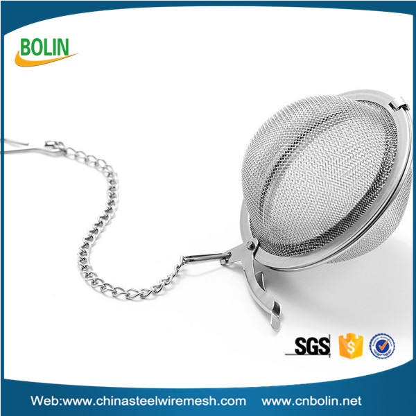 Ball Shape Stainless Steel Tea Filter Tea Infuser Strainer