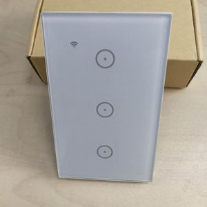 앱 무선 3 갱 3 Way Led 빛 벽 Touch Wifi Smart Switch