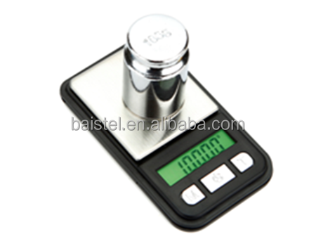 200g*0.01g Display Digital Pocket Scale With Green Backlight Weighing Scale