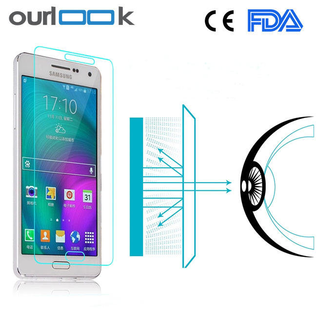Anti Blue Ray Mobile Phone Tempered Glass Protective Film