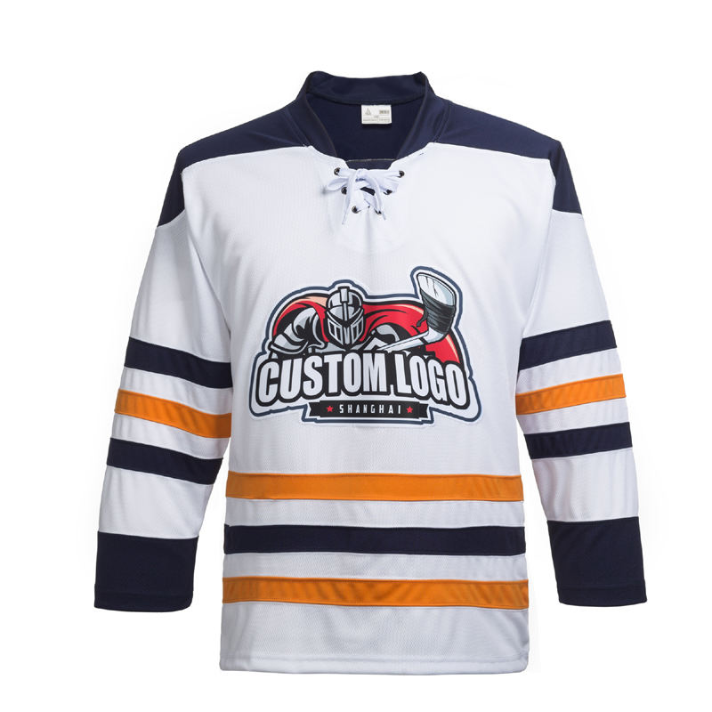 wholesale youth custom sublimation blank goalie ice hockey jersey