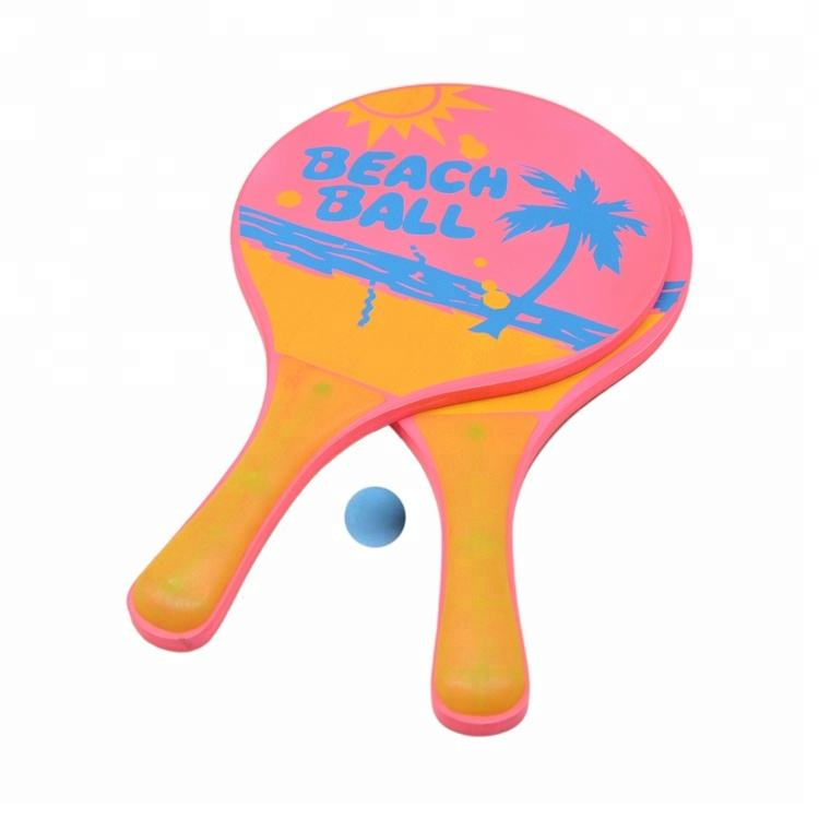 Milieuvriendelijke Materiaal Neopreen Beach Tennis Racket Bat Ball Game Set