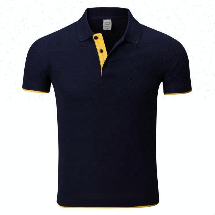 Latest fashion men casual polo shirt