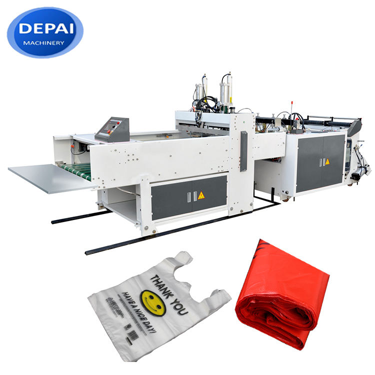 Automatic PP/polypropylene/plastic woven bag/sack making machine