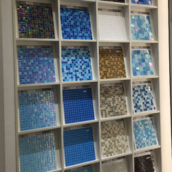 Hot swimming pool perfect use glass mosaic tile