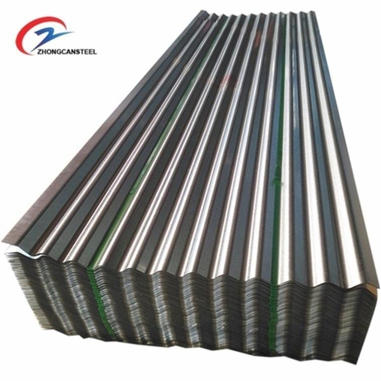 BWG30 Corrugated galvanized steel roofing sheet /metal roof price