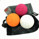 2019 China Wholesale Cheap Custom Rubber Massage Ball Set with Carry Bag