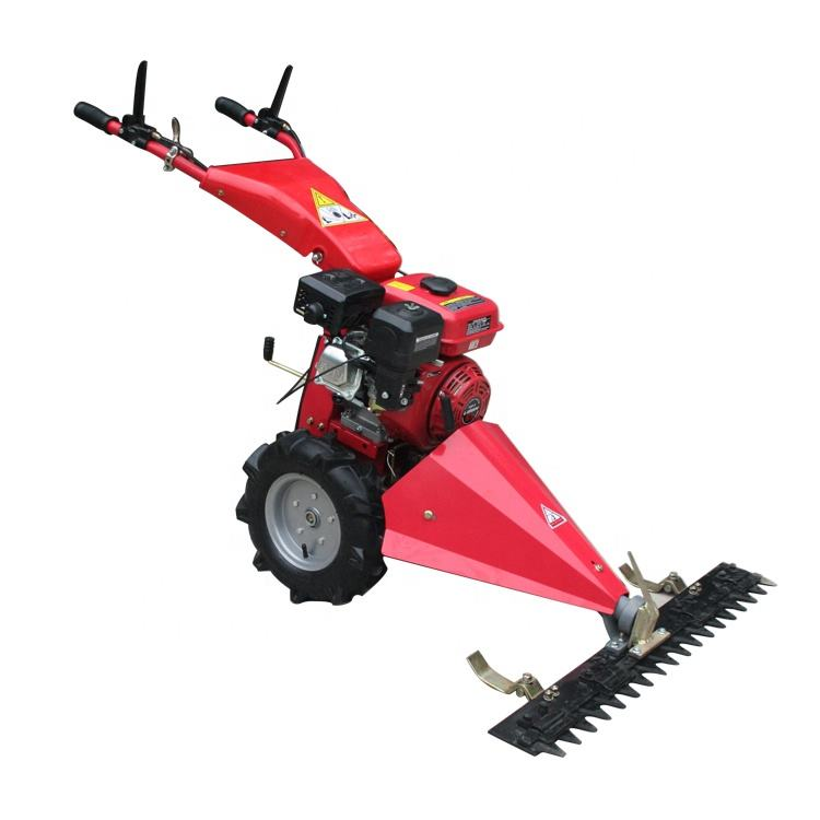 Grass cutting machine hay mower hand push lawn mower