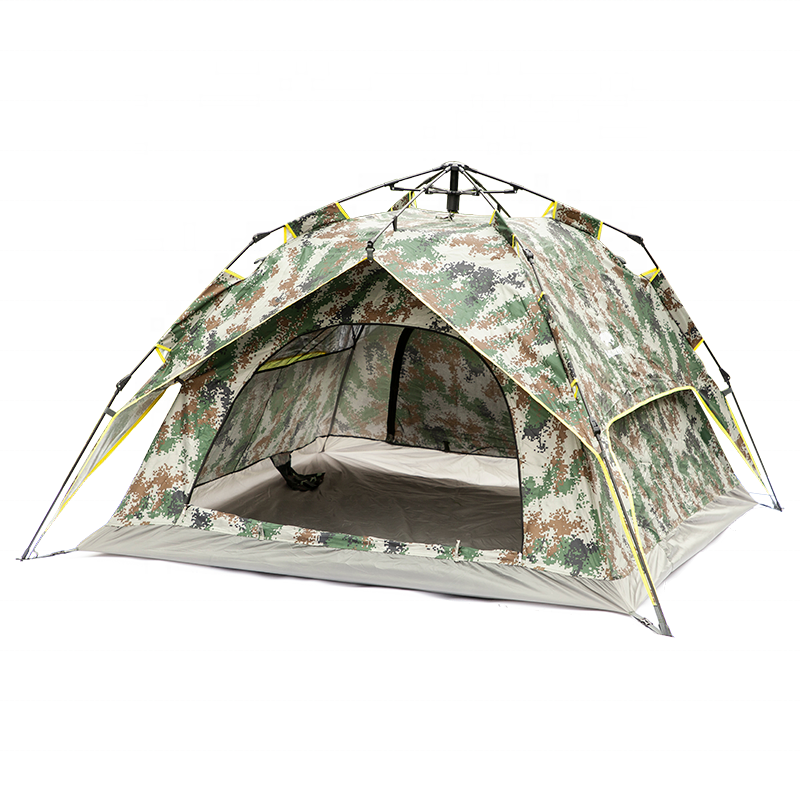 Waterproof military Outdoor import army teepee camping tent with mosquito net