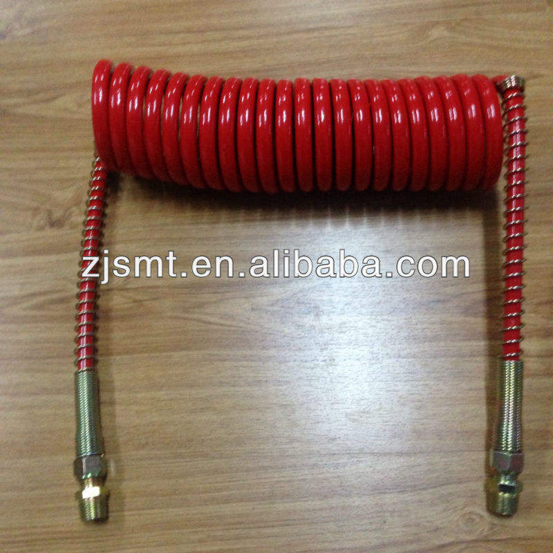 Truck Nylon air Coil Hose Trailer Air Brake Hose