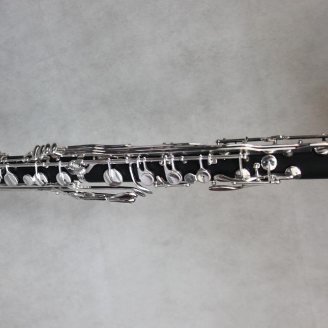 Tide music silver key Low C Bb key bass Clarinet