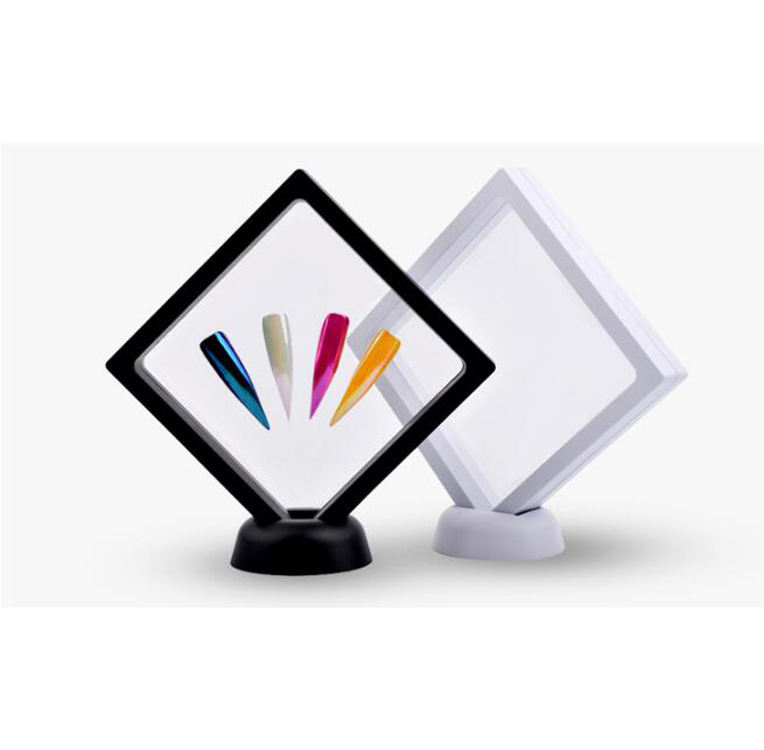 Queenfingers PAD-54 Nail Gel Polishing Picture Board Color Chart Standing Square Model Frame
