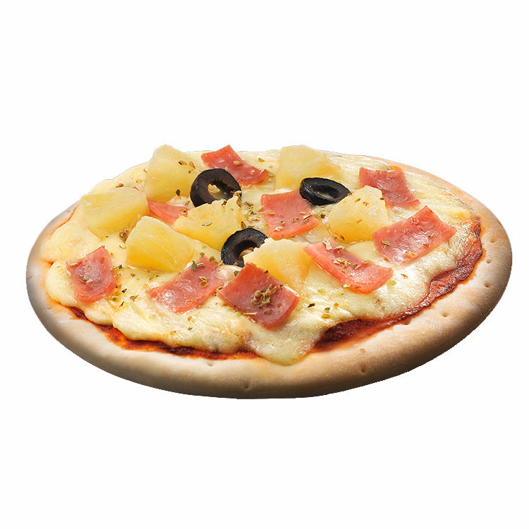 Most Popular Cheap Baked Food Frozen Hawaiian Pizza From Singapore