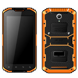 Cheapest Factory 5.5-inch Waterproof Rugged Phone With 2G Ram 16G ROM GPS 4G Android 5.1 Phone Waterproof