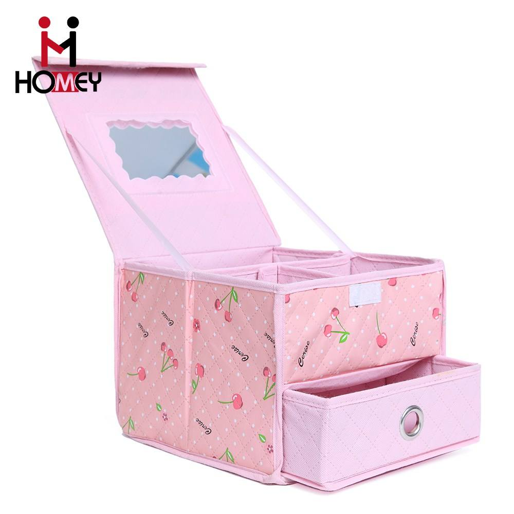 2016 Newest Customized Nonwoven Fabric Storage Box High Quality Cosmetic Storage Box Suppliers